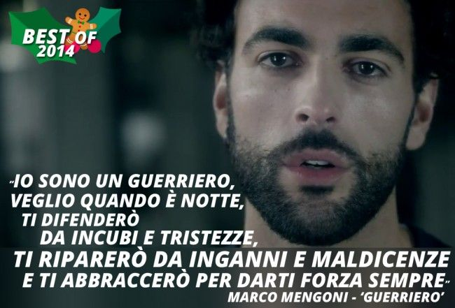 """Guerriero"" di Marco Mengoni è la Best Song del 2014"