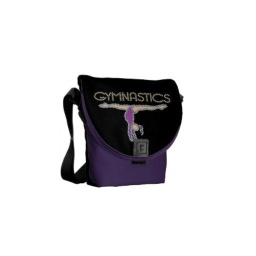 Gymnastics Mini Messenger Bag