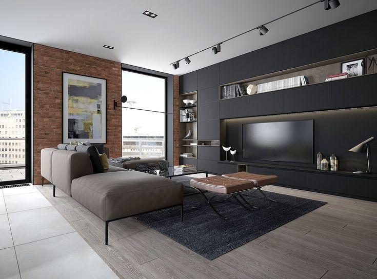 Soggiorni moderni 100 idee e stile per il soggiorno for Divani moderni grigi