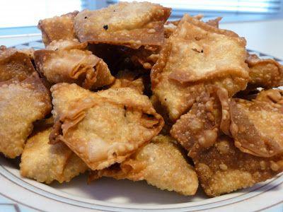 Knapperige tofu wontons - Winny wat eten we vandaag?