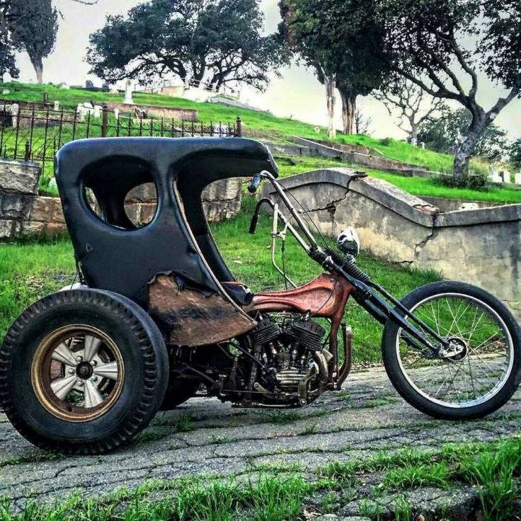 """Major manufacturer's mainstream production-line tricycle """"trike"""" motorcycle. Or, something completely different than what I just said.                                                                                                                                                     More"""