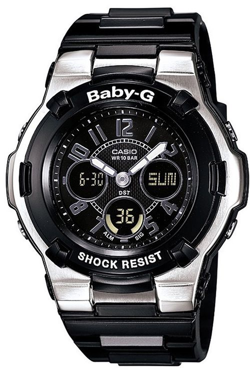 Casio Women's Baby-G Shock Resistant Black Multi-Function Sport Watch