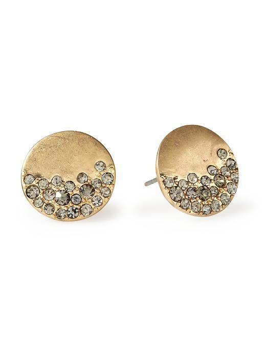 Piperlime | Urban Glitz Diamond Stud Earring