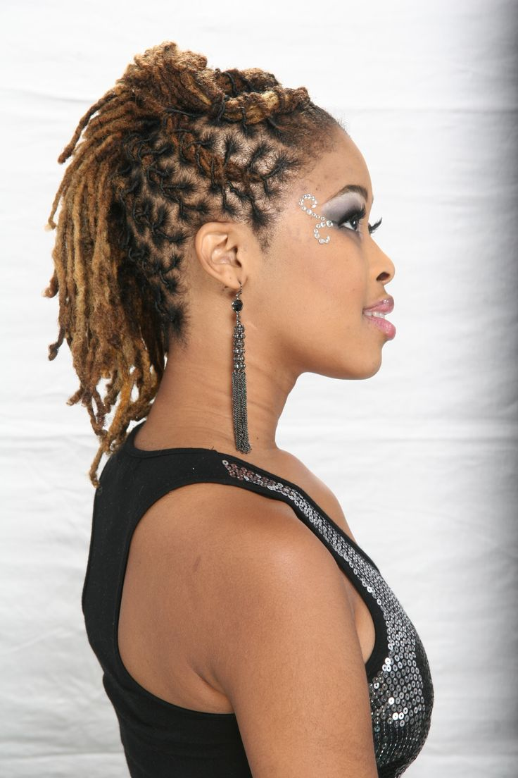 Fabulous 1000 Images About Luscious Locz Hawk On Pinterest Black Women Hairstyles For Men Maxibearus