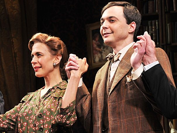 """Jim Parsons, Jessica Hecht & more celebrate opening night of """"HARVEY."""""""