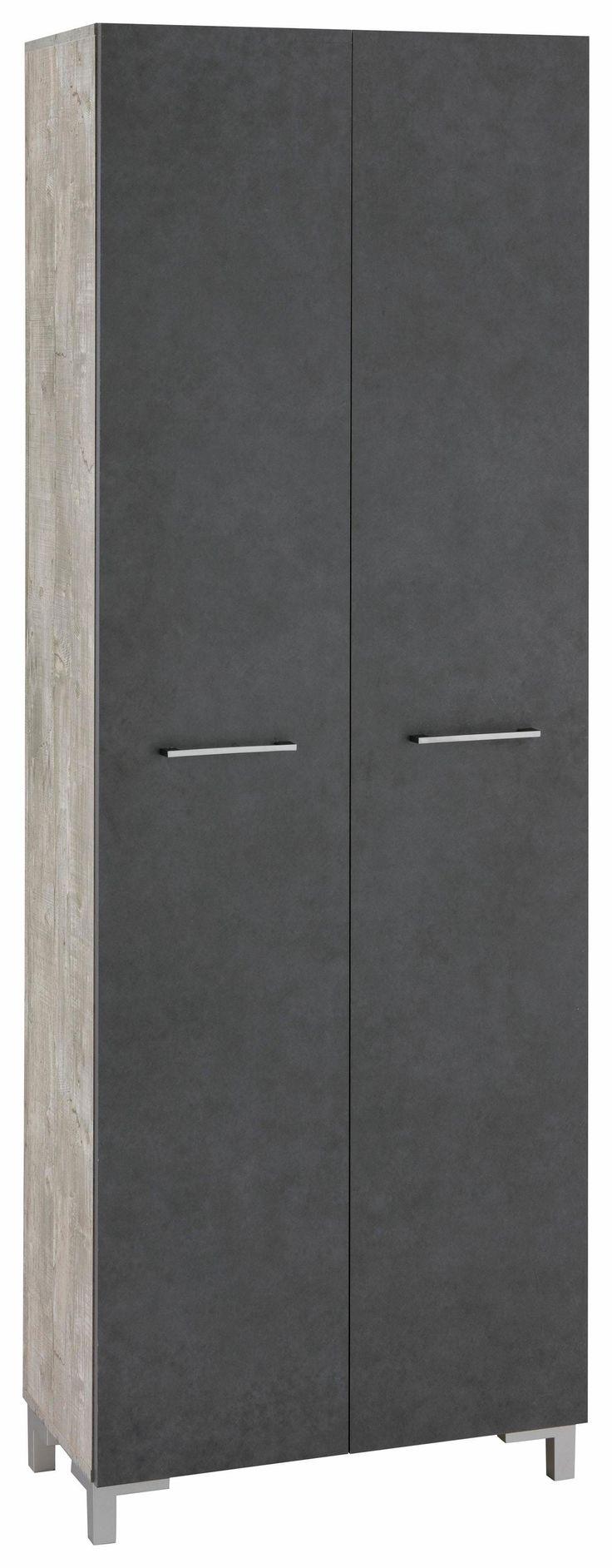 Hochschrank »Pure« grau, yourhome Jetzt bestellen unter: https://moebel.ladendirekt.de/bad/badmoebel/badezimmerschraenke/?uid=257cbc5d-e0ce-5df9-bedd-44bac326c8e2&utm_source=pinterest&utm_medium=pin&utm_campaign=boards #bad #badmoebel #hochschrank #badezimmerschraenke