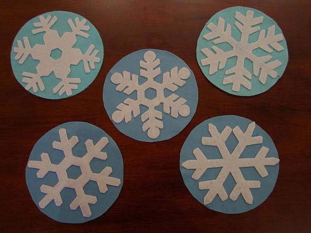 Five Little Snowflakes