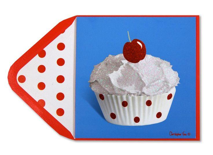 christopher vine, glitter cupcake