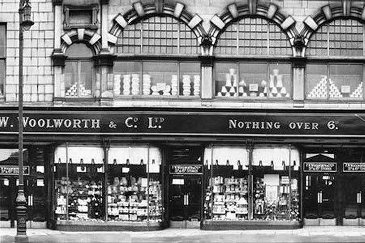 Woollies, Union Street, Aberdeen. Now Macdonald's.