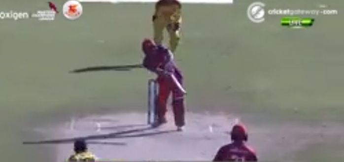 VIRENDER SEHWAG helicopter shot in MCL 2020