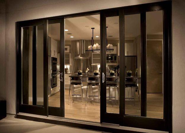 FiberGlass Sliding Patio Door with 4 Panel Configurations