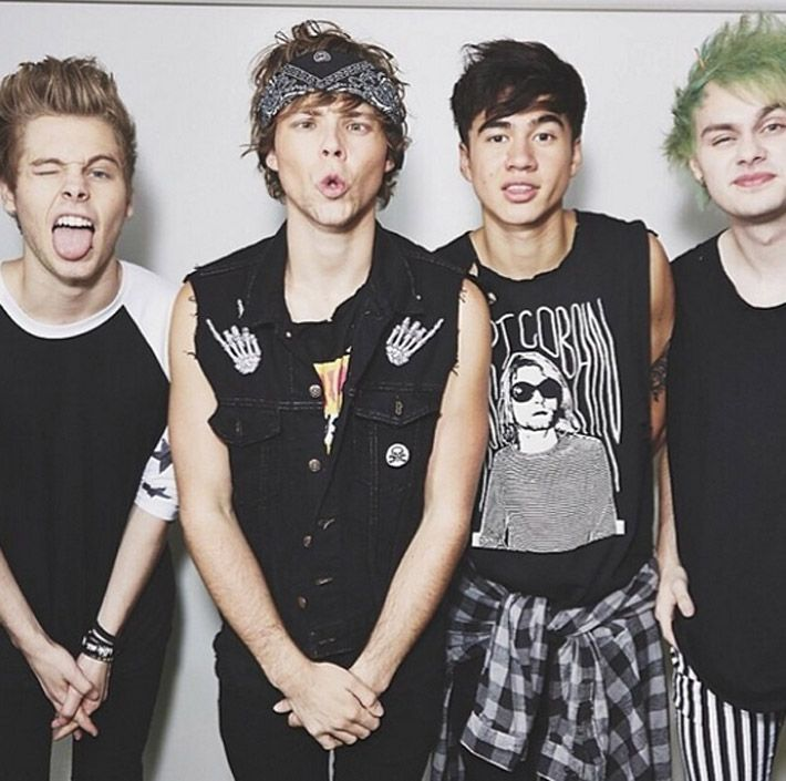 Hi, so I have a 5 seconds of summer board so if you would like to be added to that board comment thanks :)