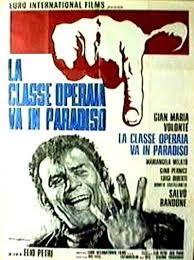 La classe operaia va in Paradiso (The Working Class Goes to Heaven), 1971, dir. Elio Petri, with Gian Maria Volonté and Mariangela Melato