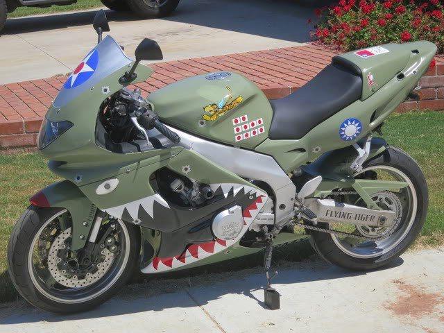 m Yamaha YZF 600cc 1998