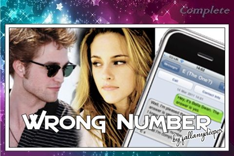 Summary: Bella is asked out on a date by a fellow student at Seattle University. What happens when she takes down his number incorrectly? Where can I read this fic?       Read, Review, Recommend ♥ …