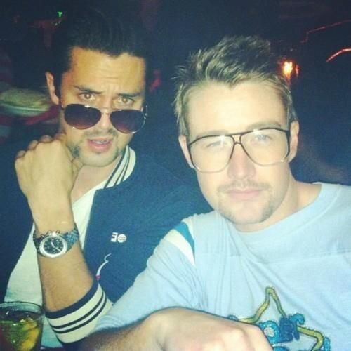 Rob Buckley's photo: #tbt When my producing partner StephenColletti and I tried our hand(s) at making stag films. We nailed the look