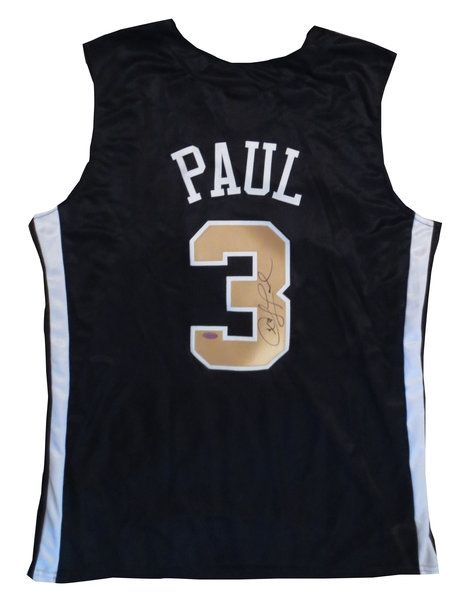 Chris Paul Autographed Wake Forest Basketball Jersey - Steiner COA Chris Paul Autographed Wake Fores signed autographed.  http://www.powersautographs.com/chris-paul-autographed-wake-forest-basketball-jersey-steiner-coa-p-100435350.html#.Uiih4T_sp0Y