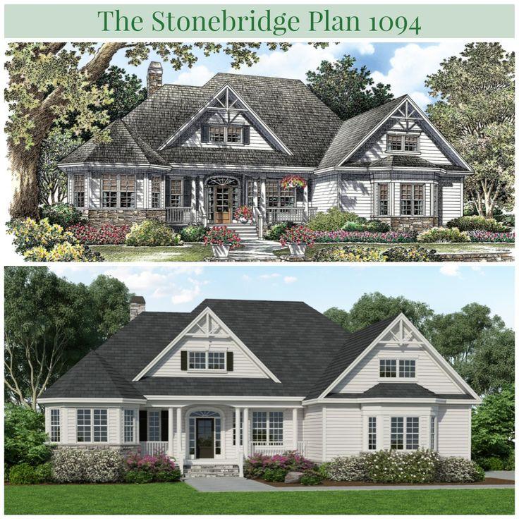 The Stonebridge Plan 1094 Has A New Look! #WeDesignDreams