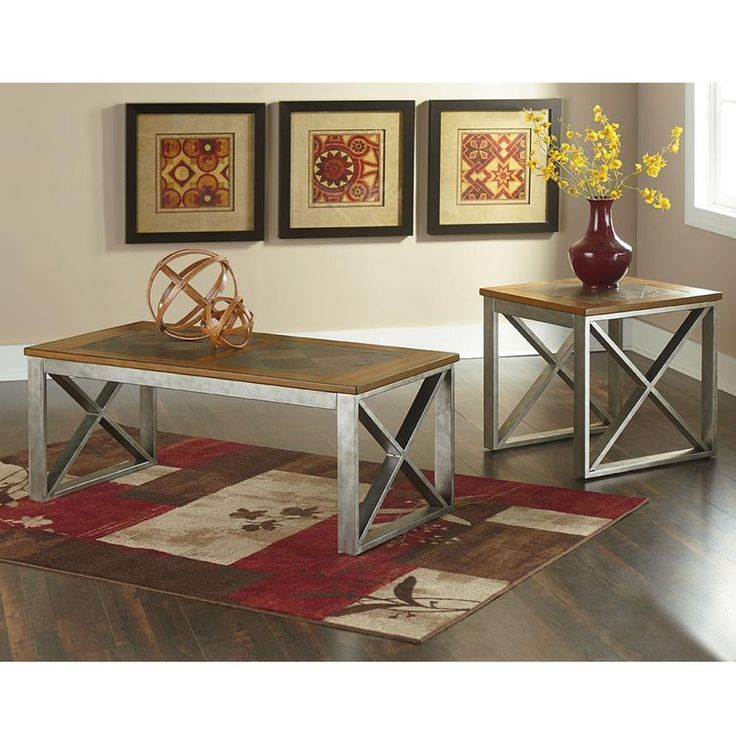 Inspired By Old Farmhouse Tables The Tessoro Coffee Table Adds Unique Style To Industrial And
