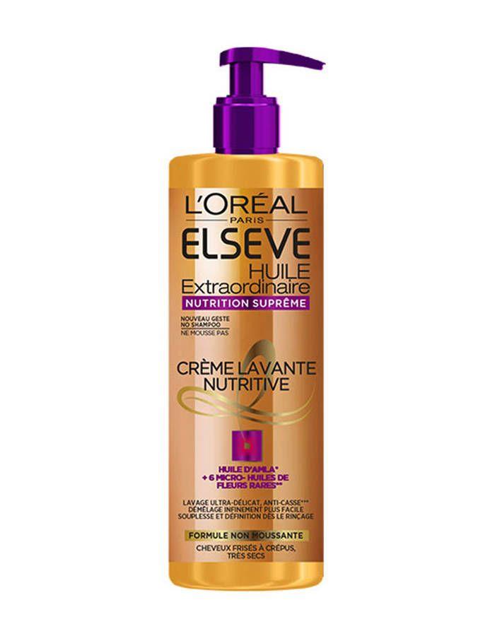 Elseve Huile Extraordinaire Nutrition Suprême, L'Oréal Paris, 6,90€ - Low poo : ces shampoings et soins tout doux pour nos cheveux - Elle