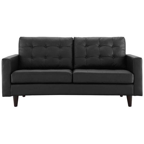 best 25 black leather couches ideas on pinterest black couch decor black couches and black sectional - Black Leather Loveseat