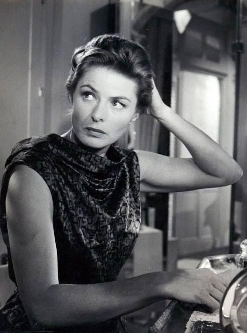 """Ingrid Bergman in """"Goodbye Again"""" (1961)"""