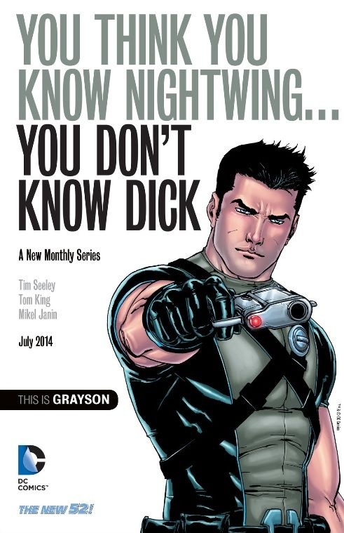 grayson agent of spyral - Google Search