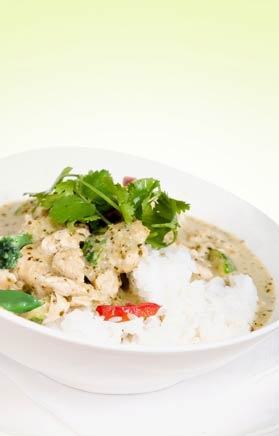 Low Fat Thai Green Chicken Curry