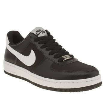 Nike Black & White Air Force 1 Ultra Force Trainers