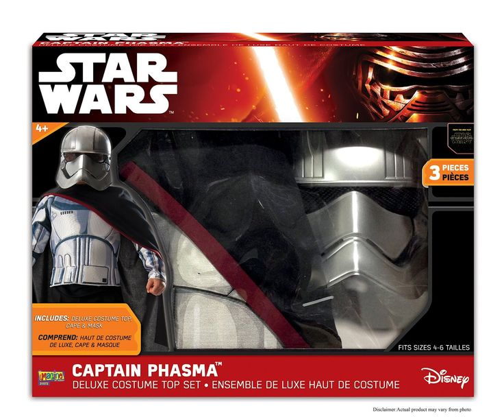 Star Wars: The Force Awakens Captain Phasma Child's Costume Set
