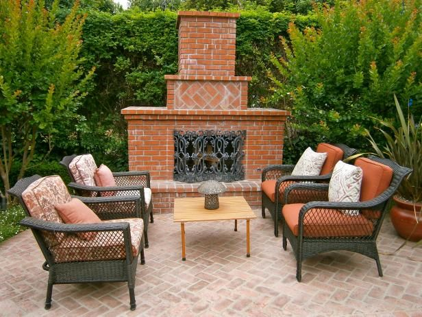 Get All The Information You Need About Outdoor Brick Fireplaces, From  Safety Tips To Design