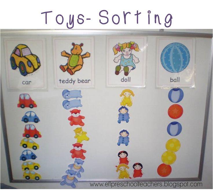 Toys For Kindergarten : Esl efl preschool teachers toys pinterest