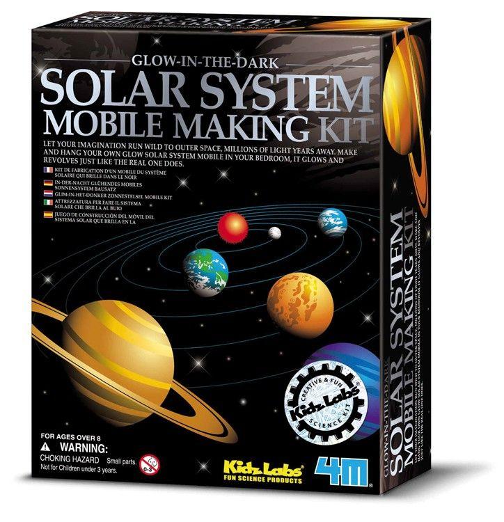 4M KidzLab: zonnestelsel-mobile
