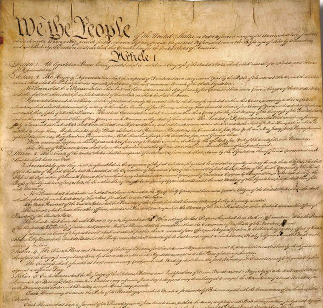 If I use the Constitution and the Declaration of Independence how to I cite it?