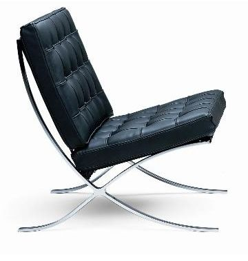 Malik Gallery Collection   Mies Van Der Rohe Pavilion Chair   Made In Italy