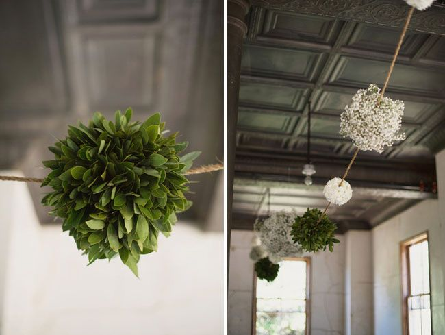 Baby´s breath ball - Intimate Sausalito Wedding: Gabrielle + Paul, Photography by Kelty and Hannah of The Weaver House
