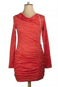 Elsie Tunic, available in Paprika, Azure and Charcoal. Was $199 now $169. #tunics #winterfashion #bettiemonroe #nzdesigner