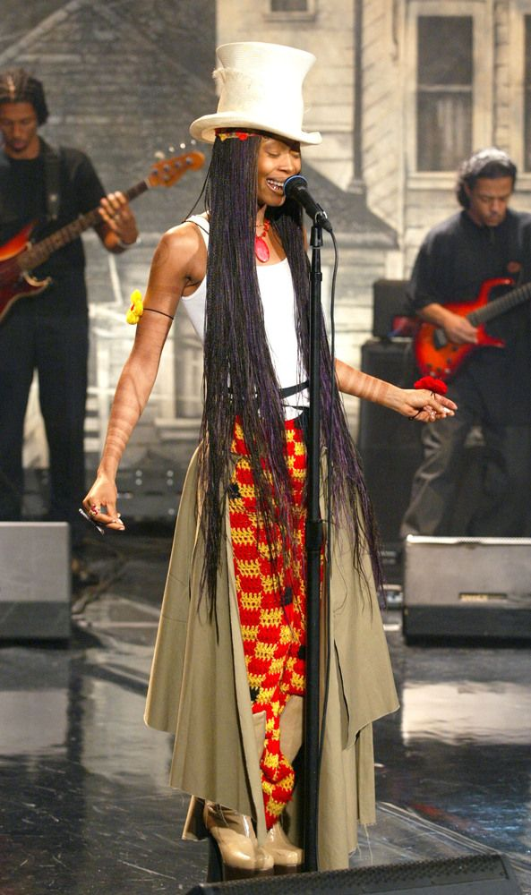 Erykah Badu's 50 Most Eccentric Outfits | Head wraps, Evolution and Wraps - Erykah Badu's 50 Most Eccentric Outfits Head Wraps, Evolution