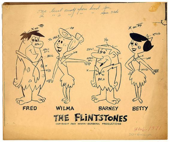 Art by William Hanna* & Joseph Barbera*  | ©  Hanna-Barbera Productions, Inc. • Info | (https://www.wikipedia.org/wiki/Hanna-Barbera)  ★ || CHARACTER DESIGN REFERENCES™ (https://www.facebook.com/CharacterDesignReferences & https://www.pinterest.com/characterdesigh) • Love Character Design? Join the #CDChallenge (link→ https://www.facebook.com/groups/CharacterDesignChallenge) Share your unique vision of a theme, promote your art in a community of over 50.000 artists! || ★: