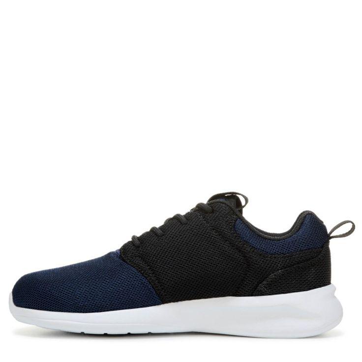 DC Shoes Kids' Midway Sneaker Pre/Grade School Shoes (Navy/Black)
