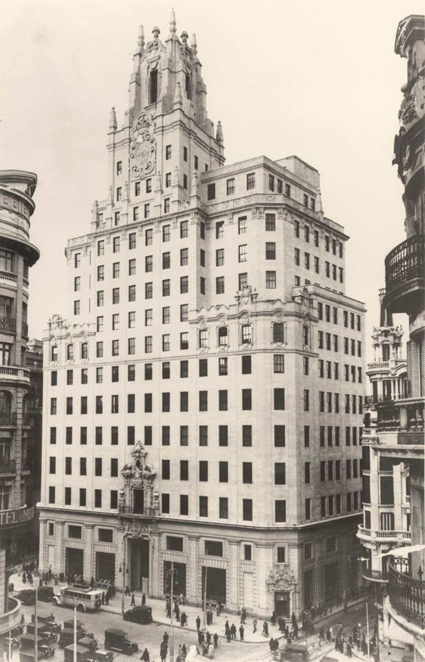 en quedaba inaugurado de forma oficial el edificio telefnica que se ubica en el
