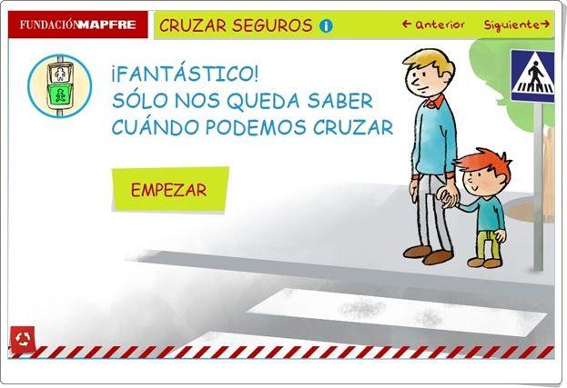 """""""Cruzar seguros"""" (Fundación Mapfre)"""