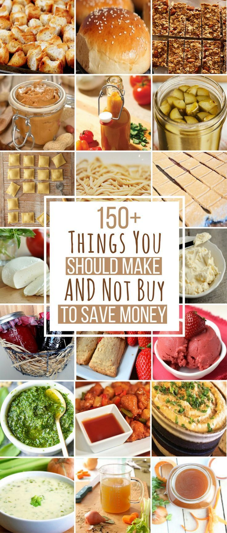 150 Things You Can Make Instead of Buying To Save Money