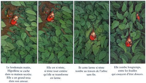 Claude Ponti. A girl becomes a tear.
