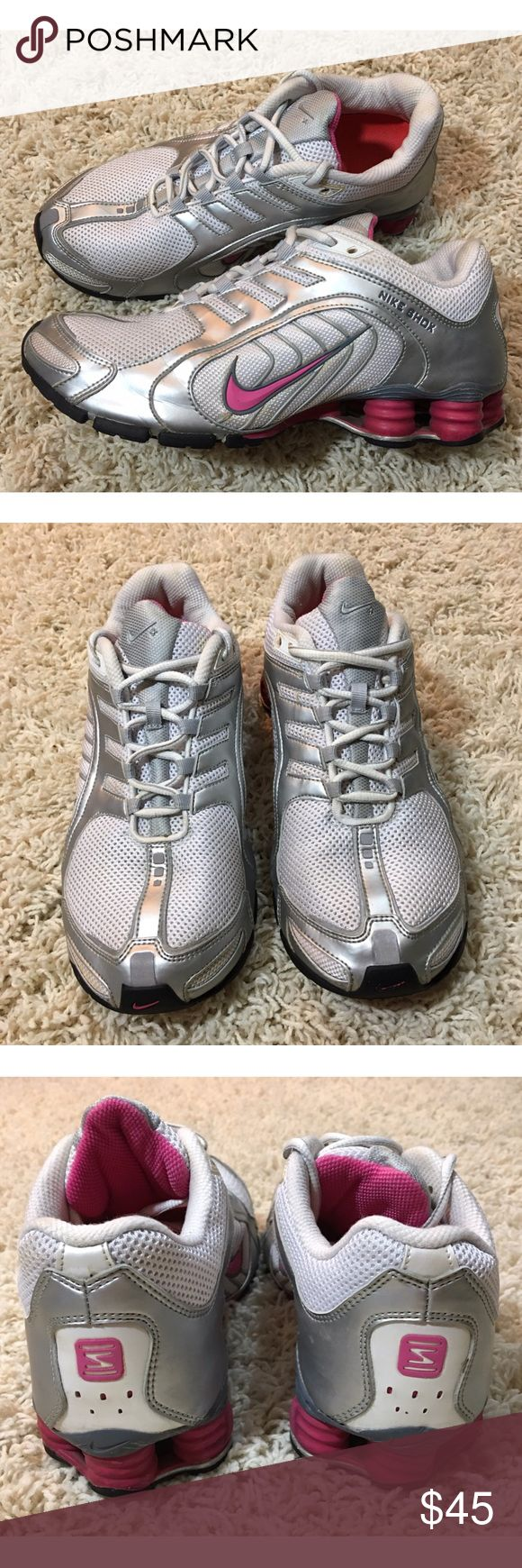 844cf9129b1 ... coupon code for grey customized with swarovski nike shox current pink  gold nike shox sneakers 5c2d6