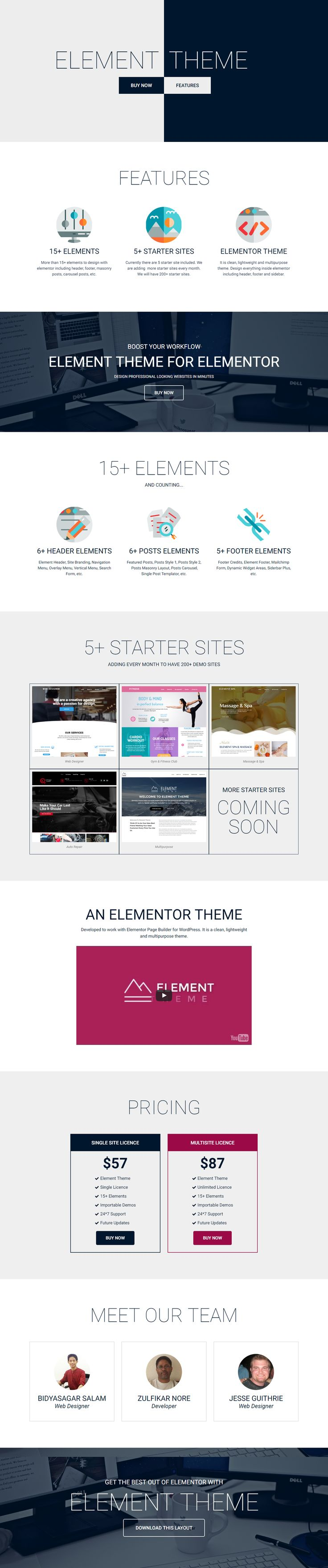11 best elementor template images on pinterest layout template