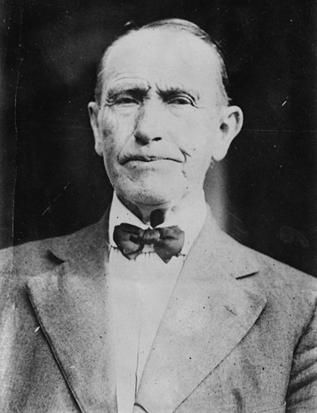 John Calvin Coolidge (1845 - 1926) - father of President Calvin Coolidge; farmer and storekeeper in Plymouth, Vermont; as justice of the peace, he administered the presidential oath of office to his son.
