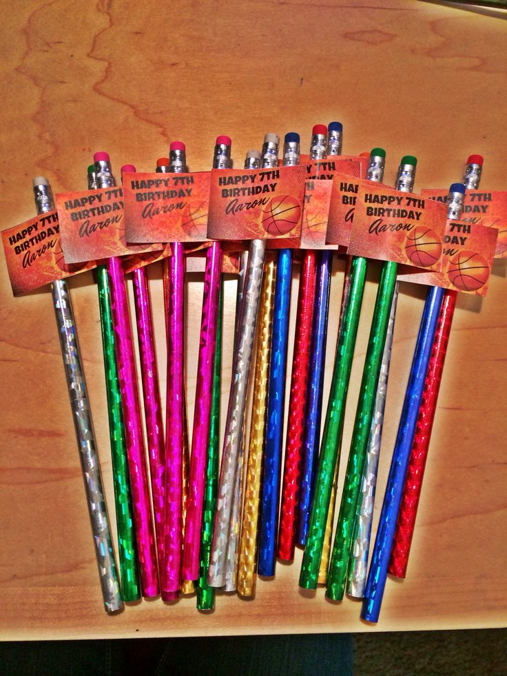 Classroom Birthday Ideas Non Food ~ Best images about birthday party favors on pinterest
