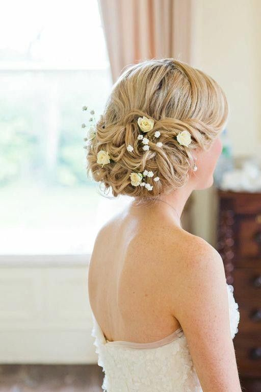 Wedding Up Do - Low up do bridal