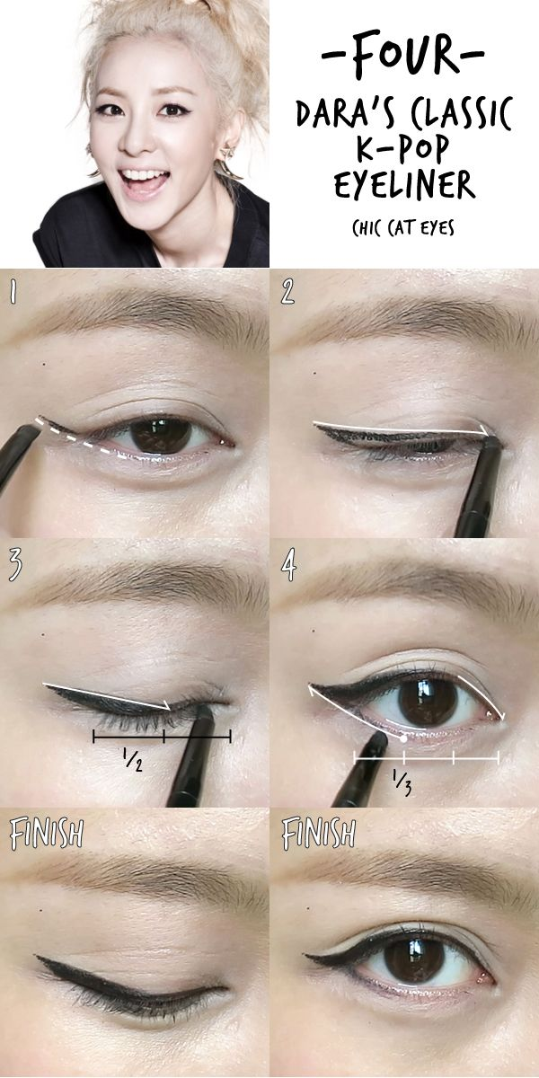 6 K-pop Inspired Korean Style Eyeliners Tutorial | MADOKEKI beauty, skincare, style
